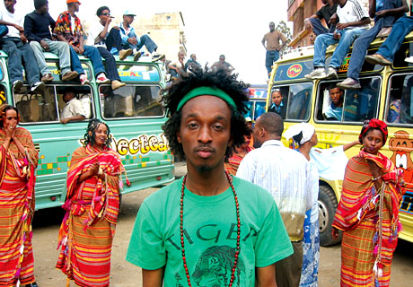 K'NAAN y la situación política somalí