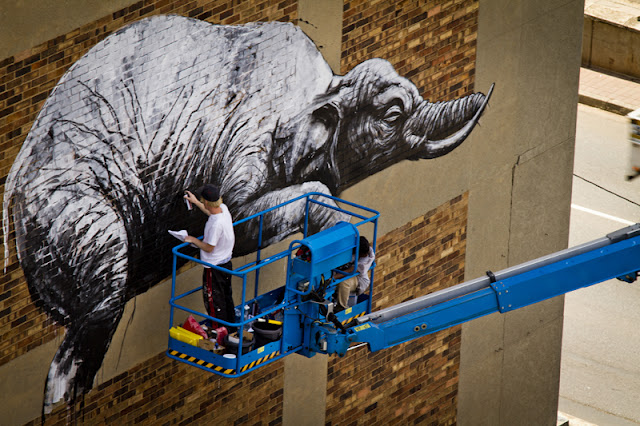 El arte urbano se da cita en 'I art Joburg'