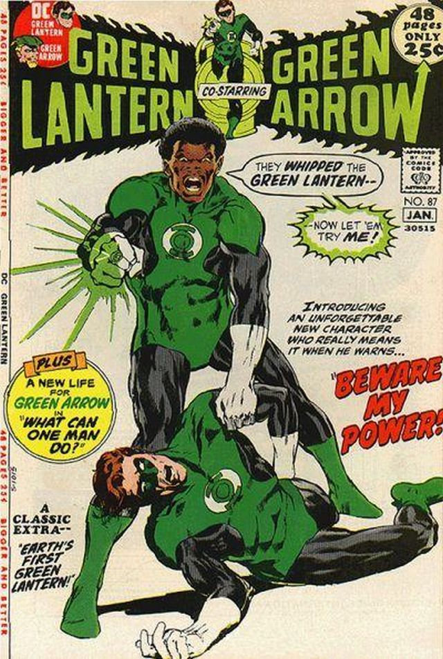 Linterna Verde, III superhéroe negro (1971).