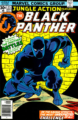 Primer superhéroe negro del cómic (1966).