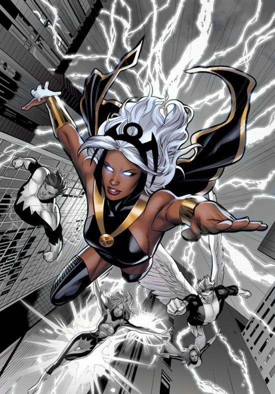 Tormenta, la primera mujer negra superheroína