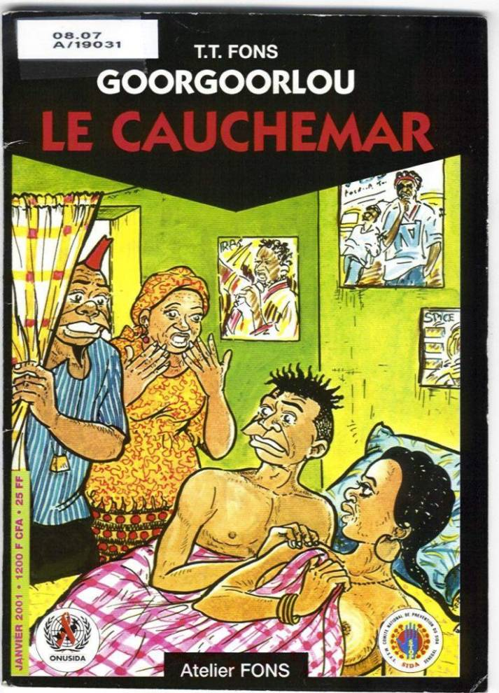 El cómic africano (I): Goorgoorlou, realismo social 100%