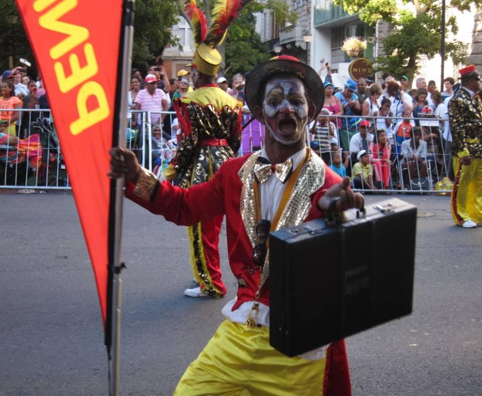 ¡A la calle! ¡Es Carnaval! (IV): El 'Minstrel Carnival' de Ciudad del Cabo (Sudáfrica)