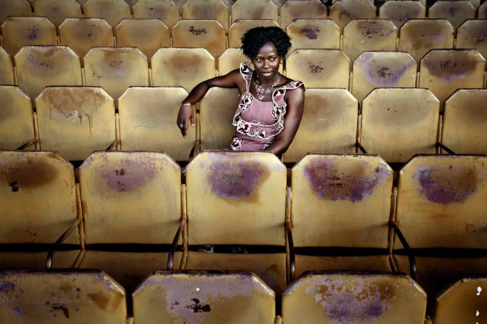 Cine africano. Fotografía realizada por Andrea Frazzetta