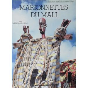 """Portada de """"Marionnettes du Mali"""" de Werewere Liking."""
