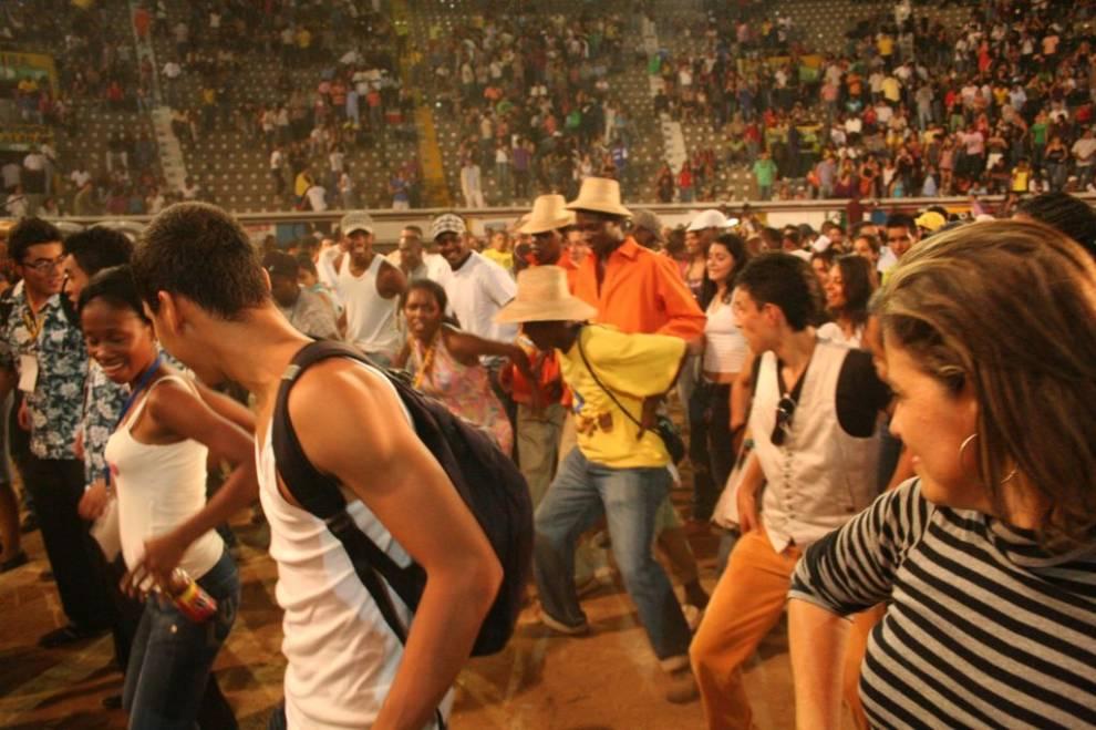Festival de Música del Pacífico Petronio Álvarez, 2010. Fotot: Jorge Porras.