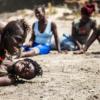 Oussouye, arena de lucha femenina