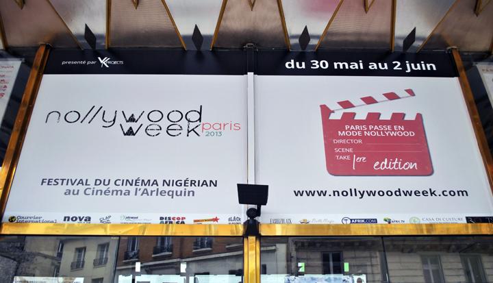 Teatro L'Arlequin donde tendrá lugar el Festival Nollywood Week Paris. Foto: Sebastián Ruiz.