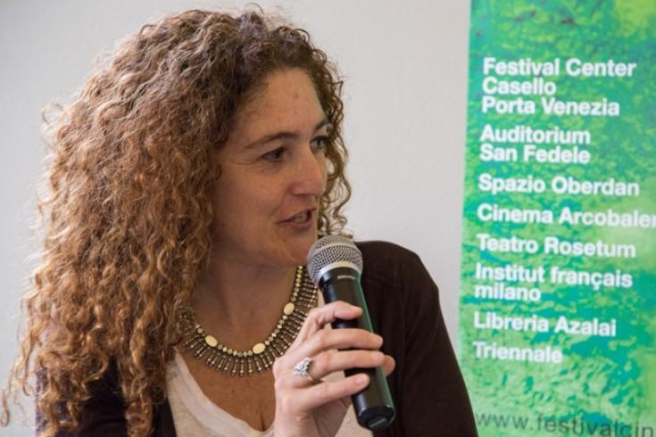 """Daniela Ricci, especialista en cinematografías africanas y directora del documental """"Creation in Exile. Five Filmmakers in Conversation"""" (2013)."""