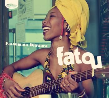 Cubierta del disco Fatou, de Fatoumata Diawara