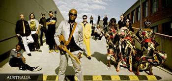 Los australianos The Public Opinion Afro Orchestra (The POAO)