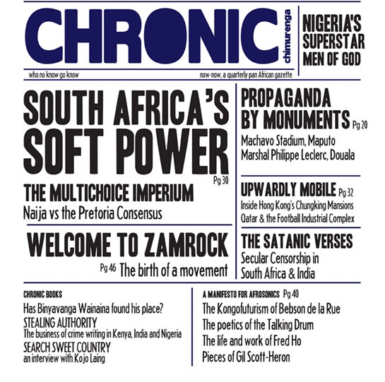 Un fragmento de la portada del Chronic