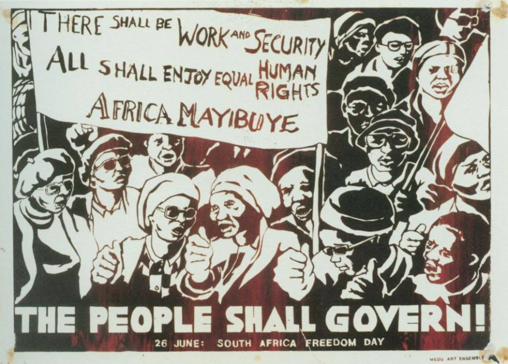 Arte de protesta: The South African Poster Movement