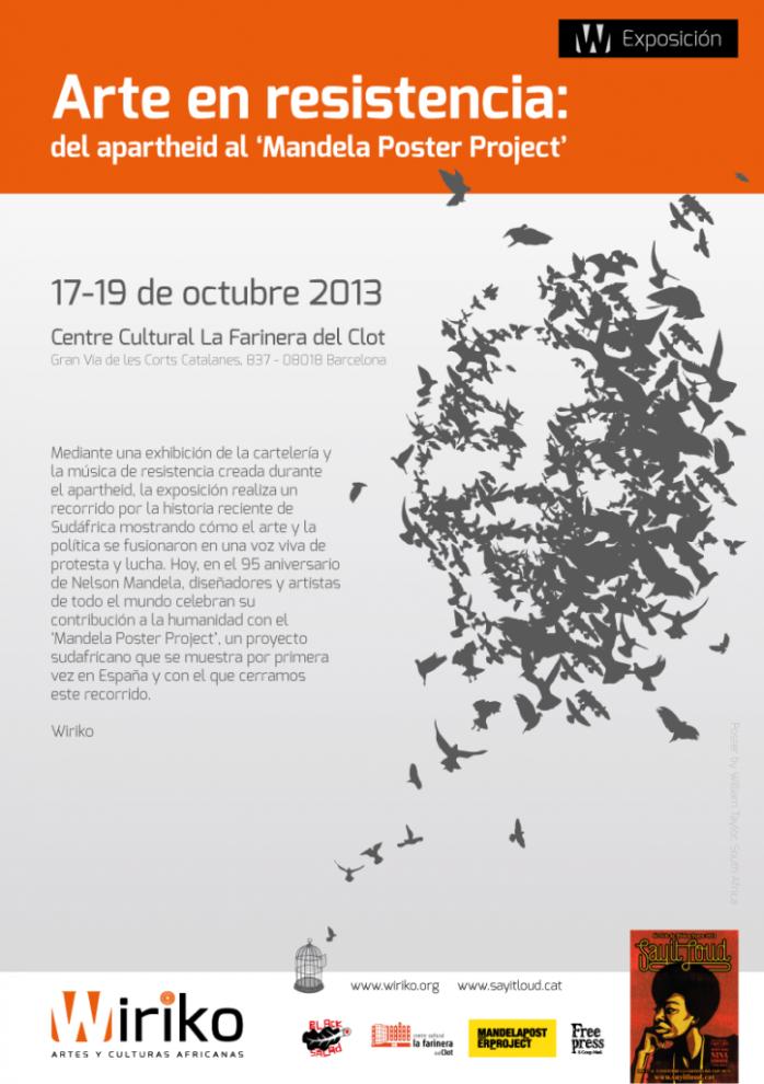 Exposición: Arte en resistencia: del apartheid al 'Mandela Poster Project'