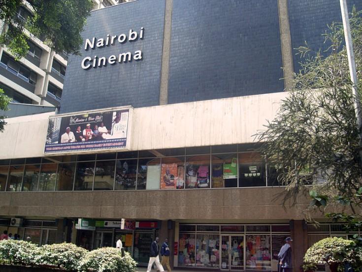 Una de las salas comerciales donde se pueden ver películas de estreno en la capital keniana.