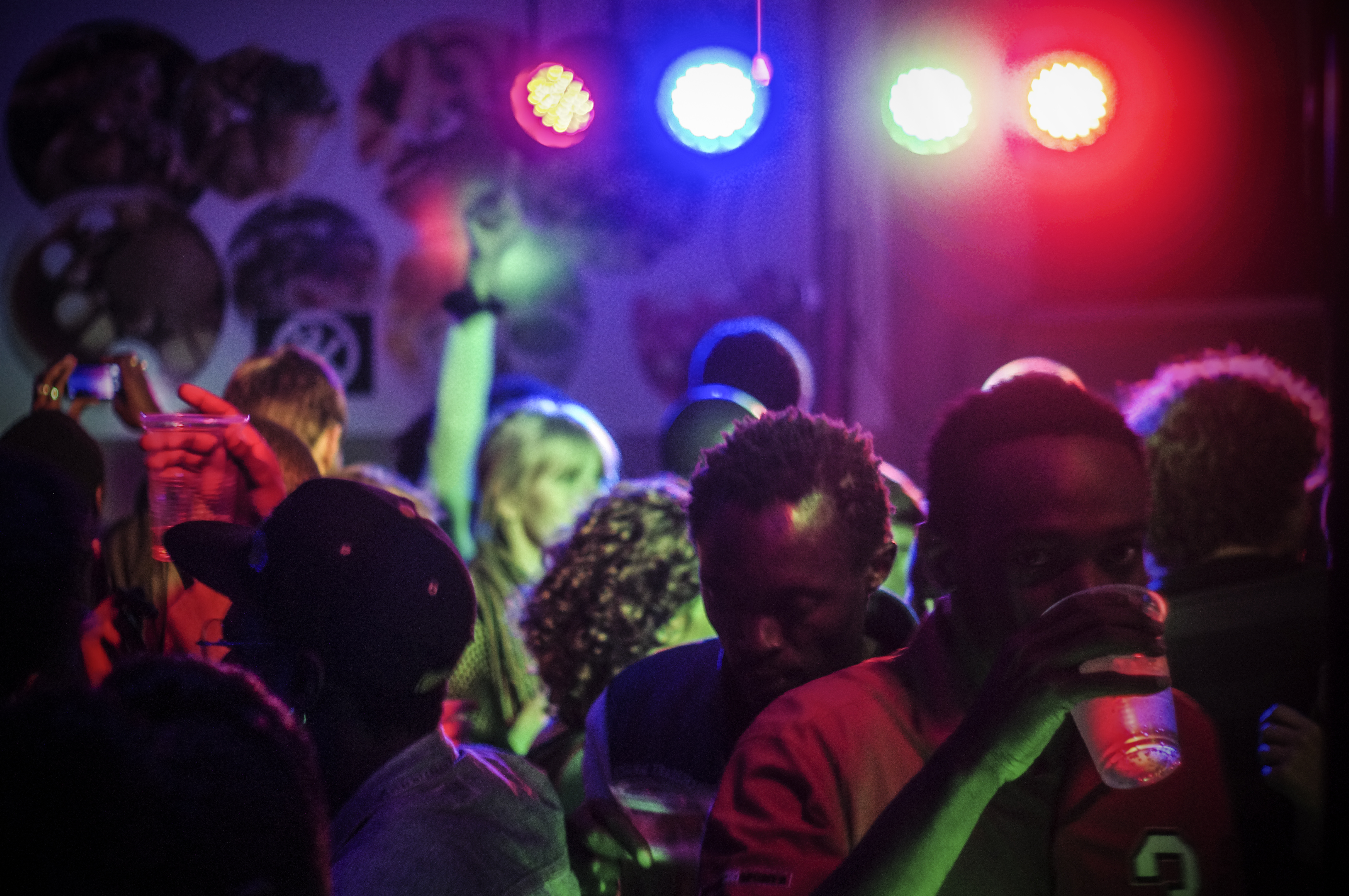Una fiesta de Ten-Cities en el Pop Up Club de Nairobi. Fuente: © Lukas Richthammer