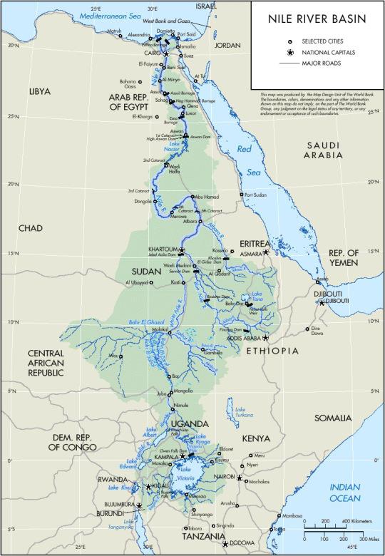 Nile River Basin Suena El Nilo
