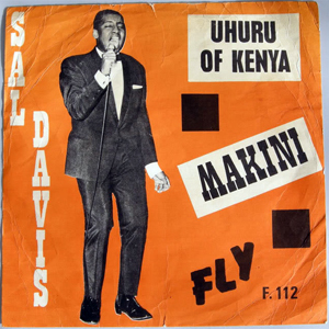 Portada de la canción que Sal Davis escribió a Uhuru Kenyatta para celebrar la Independencia.
