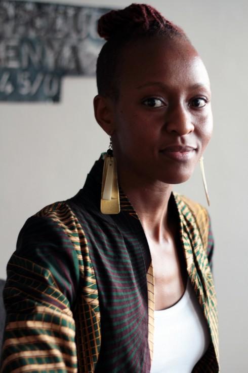 Ng'endo Mukii, artista keniana audiovisual y plástica. Foto: Sebastián Ruiz
