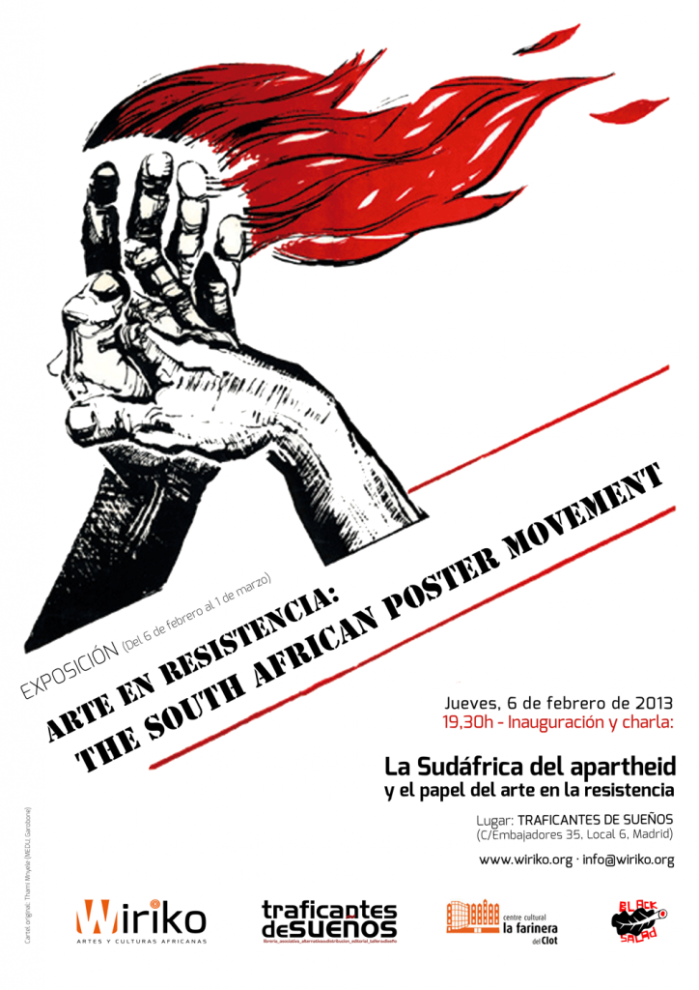 "Exposición ""Arte en resistencia: The South African Poster Movement"" en Traficantes de Sueños"