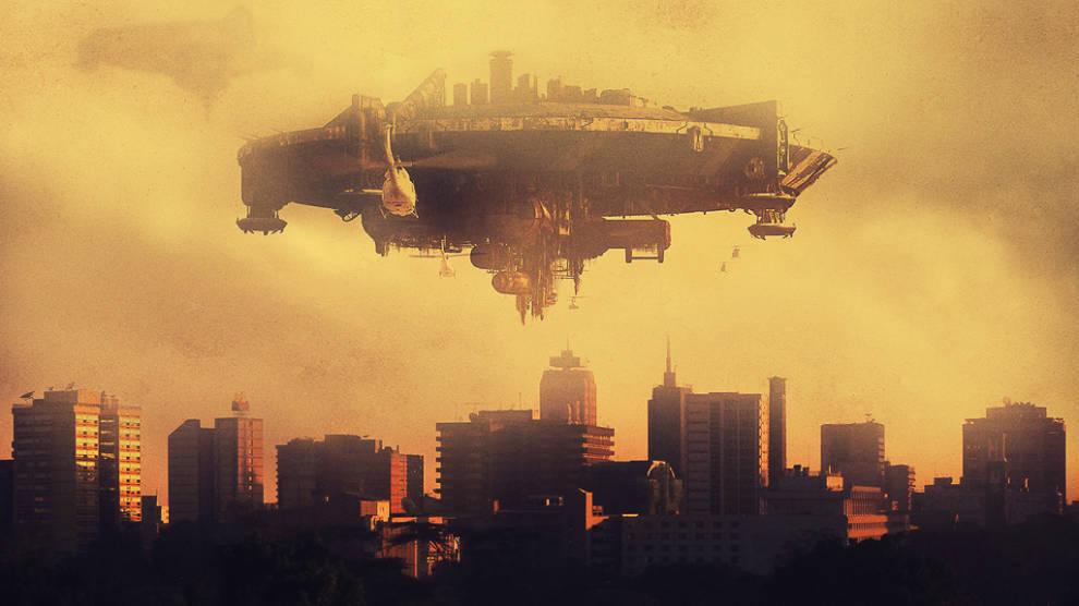 "Adaptación de la película sudafricana ""District 9"" en el paisaje urbano nairobense, por Mutua Matheka."