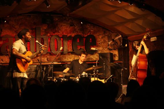 Actuación de Nua Trio en la Sala Jamboree. Fotos: Carlos Bajo Erro