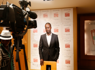 Serge, director ejecutivo de la Nollywood Week París.