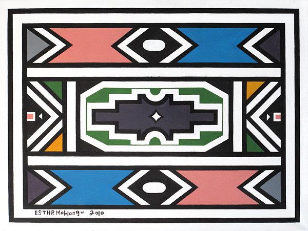 La transformación del arte Ndebele: de arte tradicional a arte contemporáneo