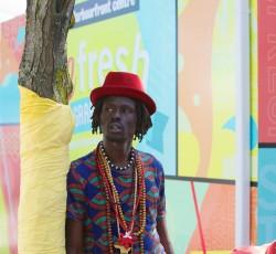 Emmanuel Jal. Foto: Joseph Perna.