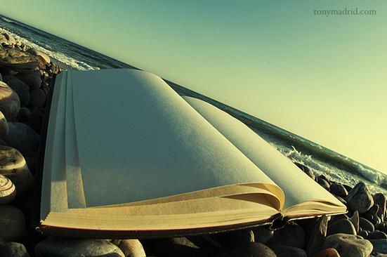 La playa siempre es un buen lugar para leer. Autor: Tony Madrid