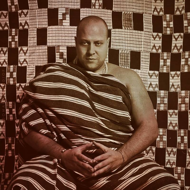 Boddhi Satva, retratado por el artista senegalés Omar Victor Diop.