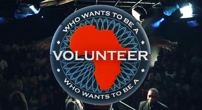 Imagen promocional del programa ¿Quién quiere ser voluntario?