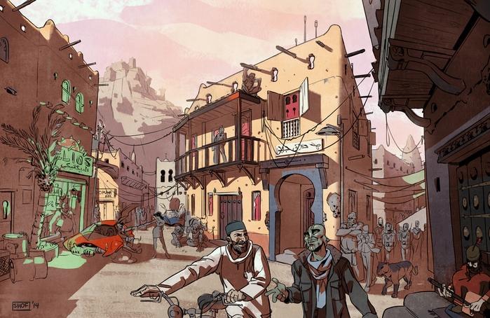 El escenario de la historia. Fuente: web del proyecto