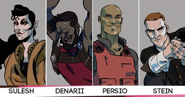 Una imagen de los cuatro protagonistas principales de la historia. Fuente: web del proyecto