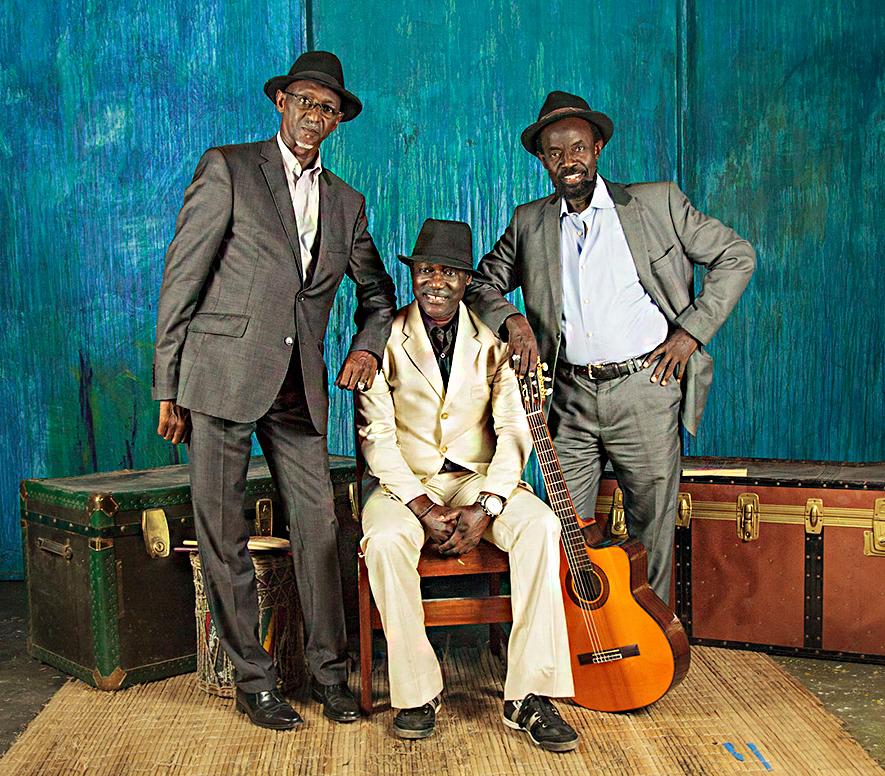 Orquestra Le Sahel de Dakar, famosa banda que en los años 60 rompió las pistas de baile de la capital senegalesa.