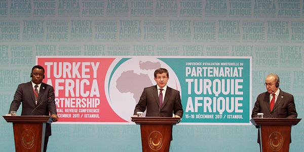 Imagen del Primer foro de cooperación entre Turquía y África celebrado en Estambul en 2011.
