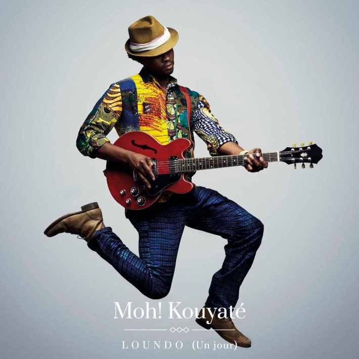 Portada del primer álbum de Loh! Kouyaté, Loundo (2015).