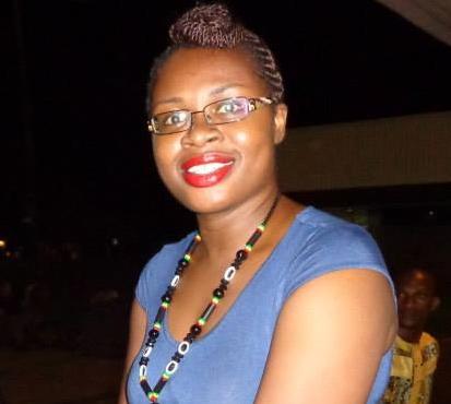 escritora marfileña, Edwige Renée Dro. Imagen cedida por la autora.