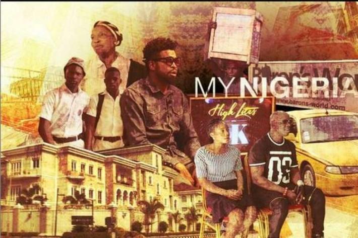 Otra de las imágenes promocionales de la serie My Nigeria