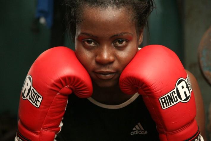 Imagen del documental Between rings, de la directora Esther Phiri .