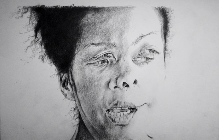 "Autoretrato de Phoebe Boswell titulado ""The Mechanics of Illusion"" / Foto cortesía de la artista"
