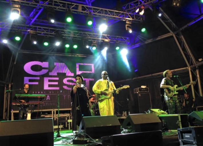 Amadou & Mariam en el Cap-Live / Fotografía del Cap-Fest.-
