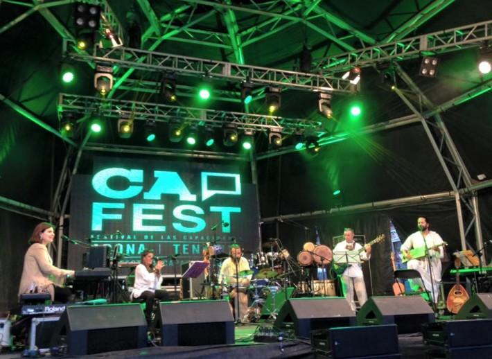 El grupo Ait-Nahaya en el Cap-Live / Fotografía del Cap-Fest 2015.-