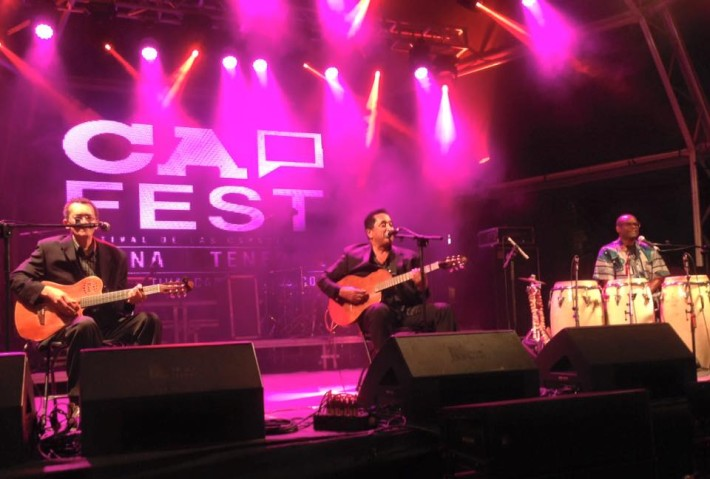 Waldemar Bastos en el Cap-Live / Fotografía del Cap-Fest.-