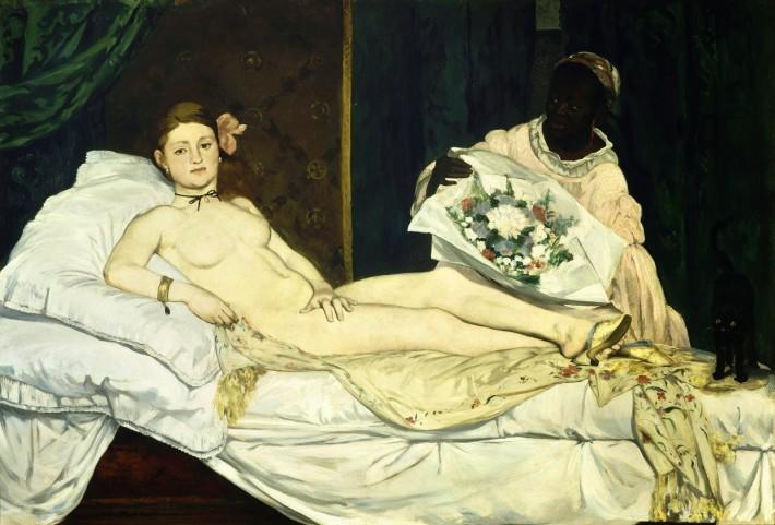 Olympia (1863) fue una obra del pintor francés Edouard Manet, uno de los precursores del movimiento impresionista.