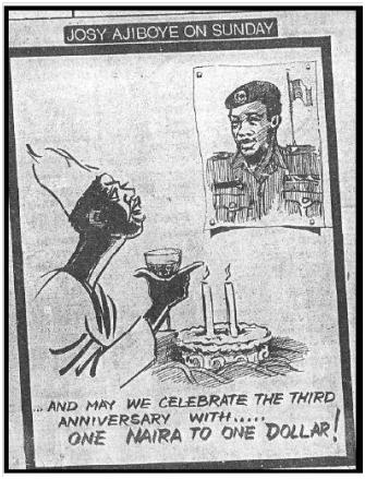 Fig. 2 Third Anniversary, Publicado en Sunday Times, 30 Agosto 1988