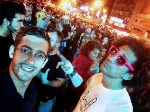 Enrique (izq.) y Toño (dcha.) en el Cap-Fest 2015.-