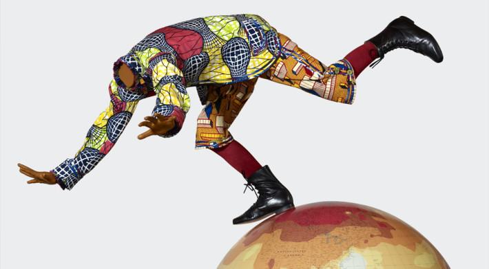 Obra del artista anglo nigeriano Yinka Shonibare.