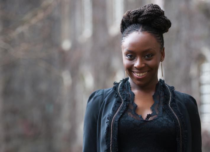 La escritora nigeriana, Chimamanda Ngozi Adichie