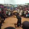 Acrobacias para el futuro de los niños de Maramba